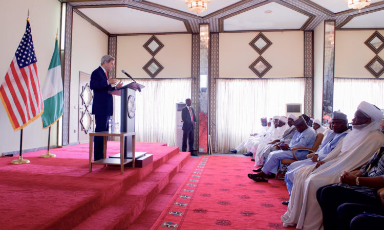 Secretary Kerry Delivers a Speech in Sokoto, Nigeria on Countering Violent Extremism and Promoting Good Governance