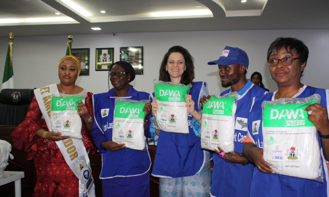 USAID Donates 2.2 Million Mosquito Bed Nets to the People of Kogi State