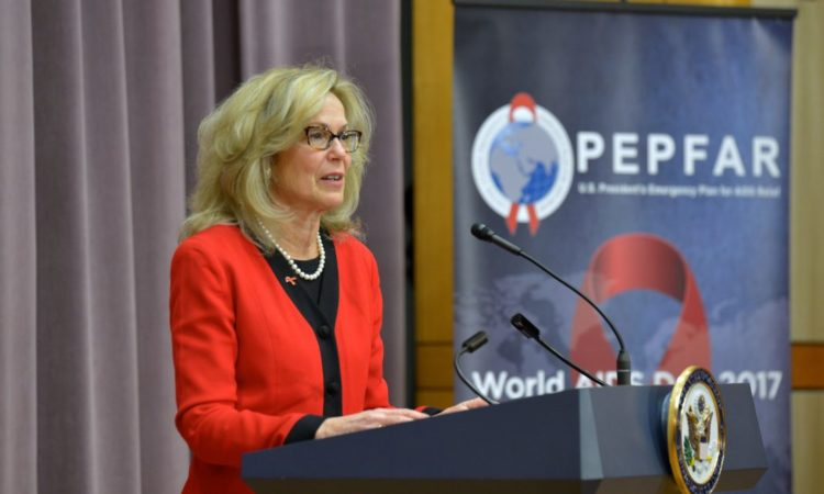 U.S. Global AIDS Coordinator and U.S. Special Representative for Global Health Diplomacy Ambassador Deborah L. Birx